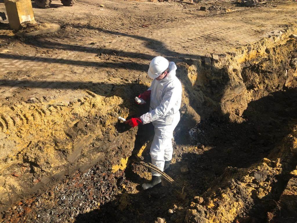 taken van de Geregistreerde Deskundigen Leidinggevende Projecten van Bodem Safety