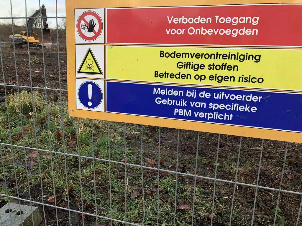 Signalering sanering schadelijke en giftige stoffen