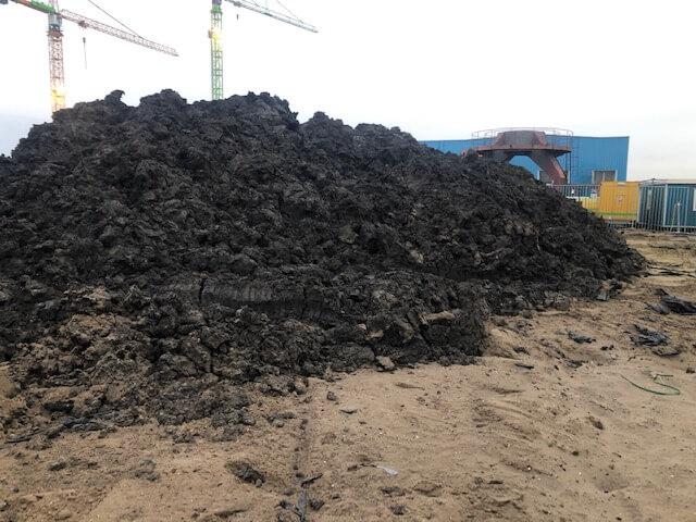 Carcinogene en mutagene stoffen vervuild depot
